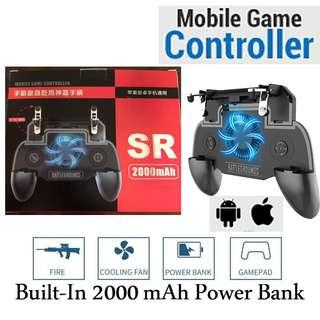 SR Mobile Game Controller with built in 2000mAh Power Bank