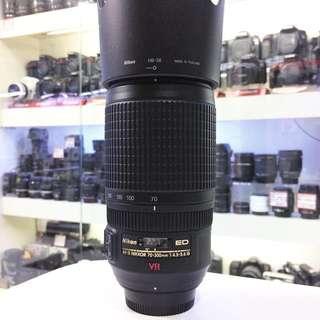 Nikon af-s 70-300mm VR