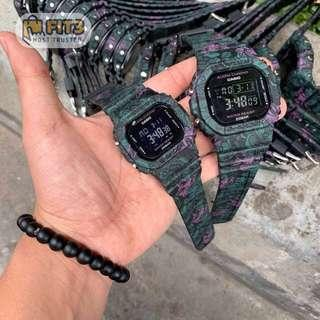 [PROMO] COUPLE SET DW5600 FLORA LIMITED