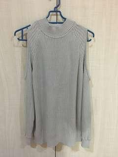 Knitted Top (Grey)