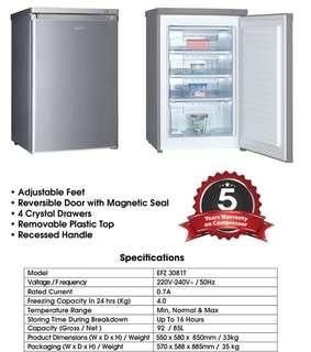 🚚 Upright Freezer
