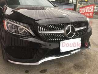 Double b Benz W205 滿天星 水箱罩 C63 C180 C250 C300 C200 AN品牌 完美品質