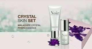 Noir Crystal Skin Set