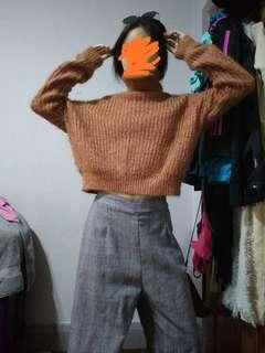 Furry Knit Cozy Top
