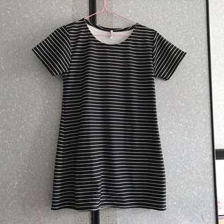 🚚 Striped Short Dress / Top