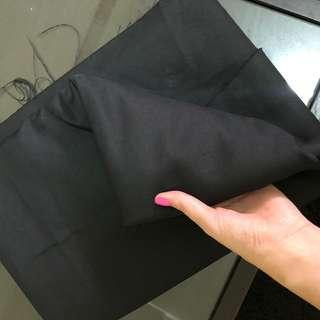 🚚 Black Polyester Fabric