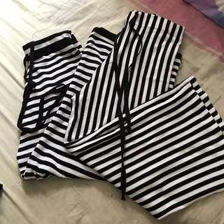 🚚 Striped Pants