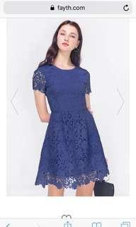 Fayth mayfair crochet dress