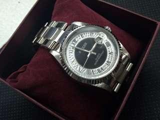 S2 Square QUARTZ fashion  classic watch 鋼錶 腕錶