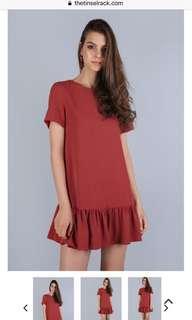 The Tinsel Rack Kara drop hem dress
