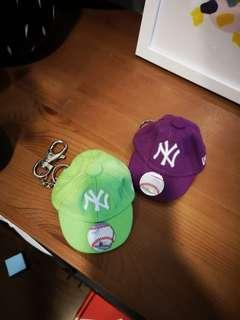 New era cap keychain original miniature and cute (bundle for rm 50)