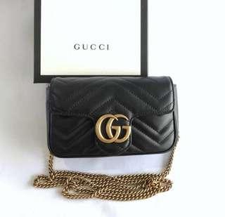 Gucci Marmont supermini 16.5cm