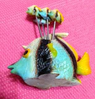 熱帶魚水果叉