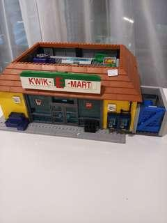 Used Lego 71016 Simpsons Kwik E-Mart
