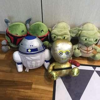 🚚 Star Wars plush toys