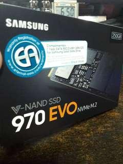 🚚 Samsung 970 Evo 250GB NVMe M.2
