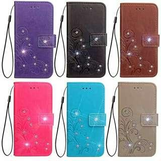 Jewelled Flip Case