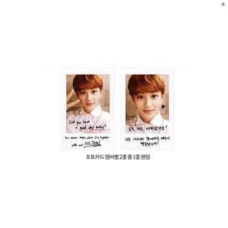 [WTB/LF] NCT 127 Mark Voice Keyring Photocard
