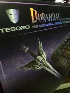 🚚 Tesoro Durandal Spectrum RGB Mechanical Gaming Keyboard