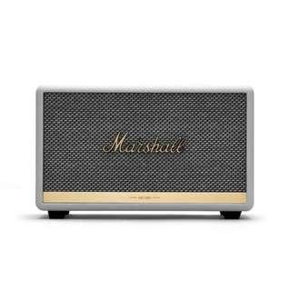 Marshall Acton II Bluetooth Speaker White with 1 Year Warranty