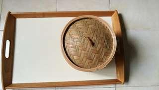 IKEA tray + free XiaolongBao steamer