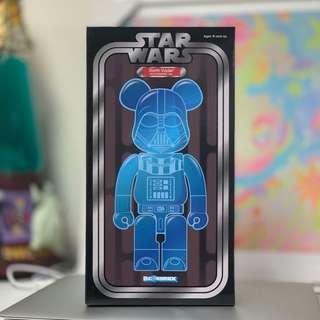 Medicom Star Wars Darth Vader Holographic Ver 400% Bearbrick