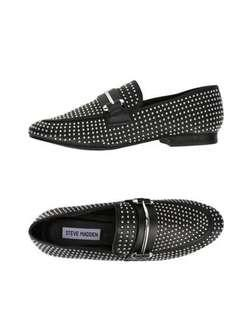 Steve Madden studded loafers