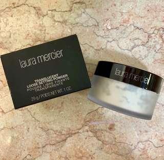 全新 新版 Laura Mercier Translucent Loose Setting Powder 29g 碎粉 蜜粉 控油 定妝