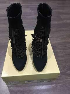 Sergio Rossi fringe boots