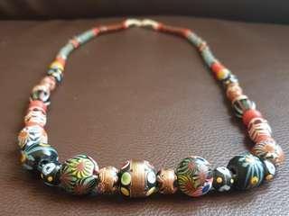 Kalung Dayak Beads asli