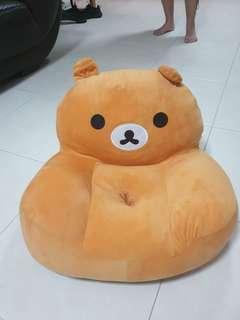 Plushy Arm Chair for Toddlers - Rilakkuma Soft Toy