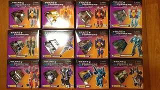 三廠 變形金剛 Transformers G1 Starscream Thundercracker sunstrom skywarp Thrust Dirge 星星叫 雷公 天鷗 black Ghost