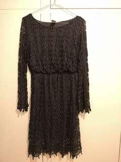 Size s black lace dress #swapAU