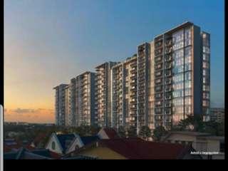 Garden Residences at Serangoon North - 4 Mins walk to MRT