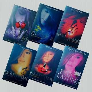 The Immortals Series (1-6) by Alyson Noel