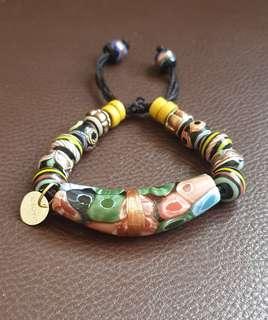 Gelang Dayak Beads Asli