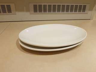 Oval serving plates Cerabon