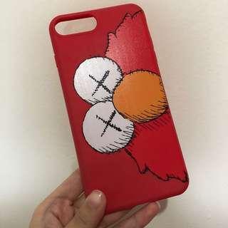 iphone 7 plus / 8 plus elmo red case