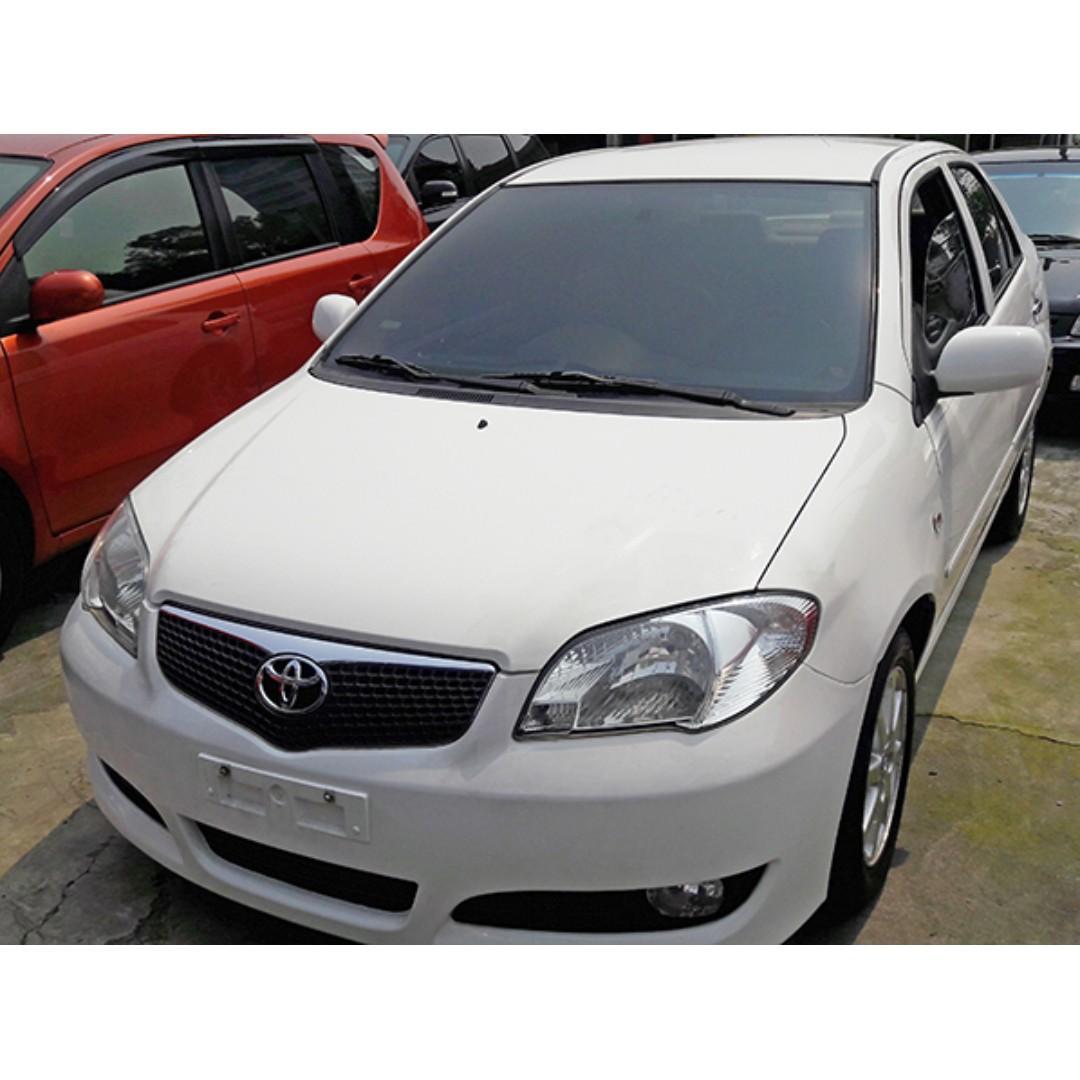 2004年Toyota vios白色 『阿賢精選車坊』賞車專線:0908169110