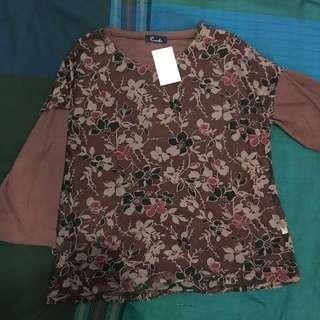 SISA IMPORT! blouse kaos