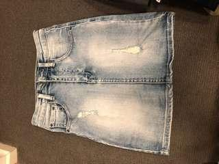 Ziggy denim skirt