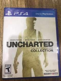 🚚 PS4 Uncharted 1-3