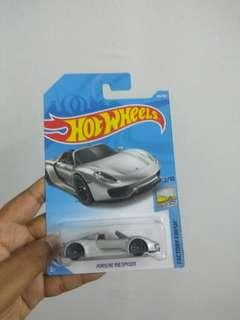 Porsche 918 Hot wheels
