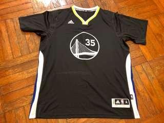 Golden State Warriors Kevin Durant Adidas Slate Swingman XL