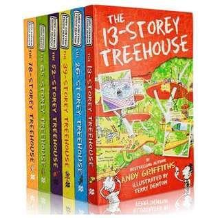🚚 The 13-storey treehouse