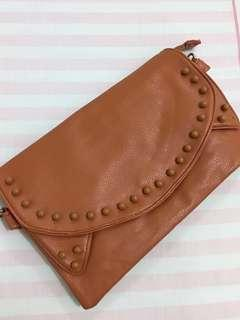 TAS CLUTCH leather