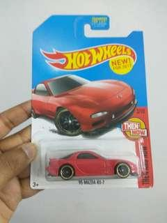 Red US card RX7 FD3S hot wheels