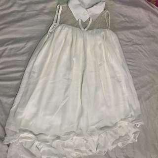 SISA IMPORT! white blouse