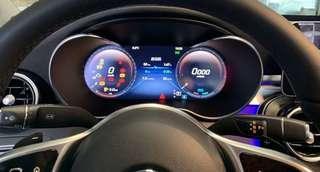 Mercedes new w205 809 Digital meter virtual cockpit