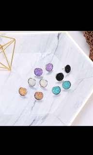 Bnip bling crystal earrings